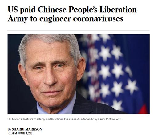 El NIH (National Institutes of Heath)  de Fauci ha financiado al científico de las fuerzas armadas de Wuhan que murió misteriosamente tras haber registrado la patente de una vacuna contra COVID