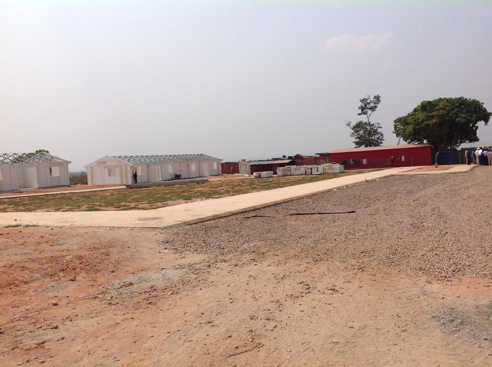 O Colonato do Nsoso em desemvolvimento. Imagem do Muana Damba.