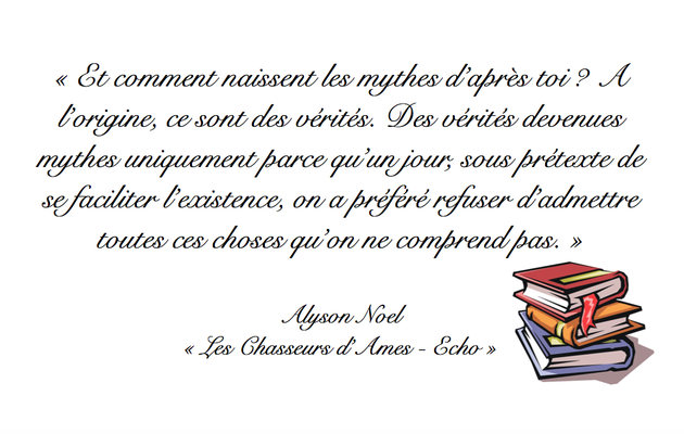 Citation Alyson Noel