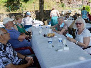 Barbecue à la grotte pour les Anciens avec le CCAS d'Algrange le 15 juin 2021