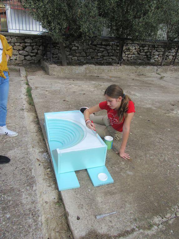 SMGR19 Construction d'une maquette d'un théâtre grec antique