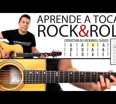 Aprende a tocar Rock & Roll en guitarra! paso a paso y muy fácil!
