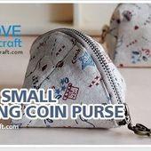 petite bourse 3 (tutoriel gratuit - DIY)