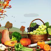 Les fruits et légumes d'octobre - Yuka