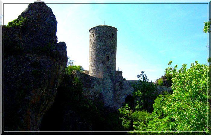 Diaporama des 2 châteaux de La Roque Sainte Marguerite
