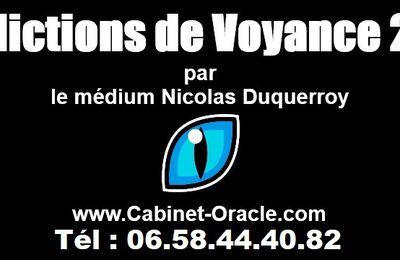 Prédictions de Voyance 2019 pour l'avenir de la France par le médium Nicolas Duquerroy