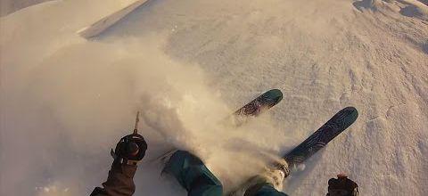 Joli saut à ski !