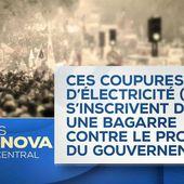 Une déclaration du secrétaire général de la CGT-ÉNERGIE PARIS sur les coupures de courant opérées par le syndicat - Ça n'empêche pas Nicolas