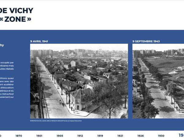 """Exposition """" L'empreinte des fortifs"""" à l'occasion du centenaire de la décision de la démolition des fortifications de Paris #3"""
