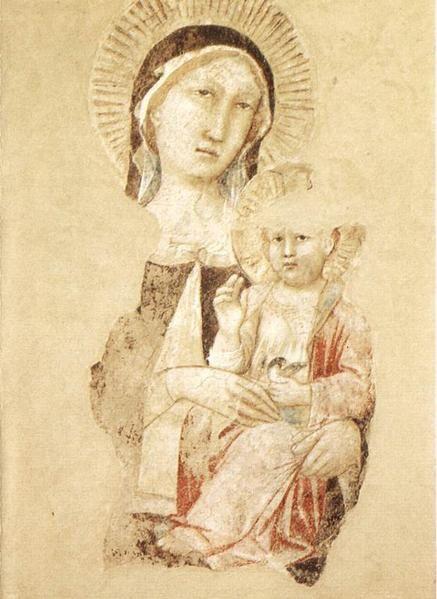 14ème siècles italiens Vierges