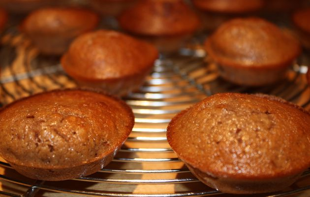Petits moelleux à la crème de marron (recette express, sans gluten & sans lactose)