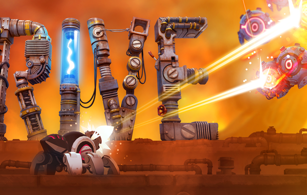[TEST ECLAIR] RIVE PC : du shoot'em'up (sur)prenant