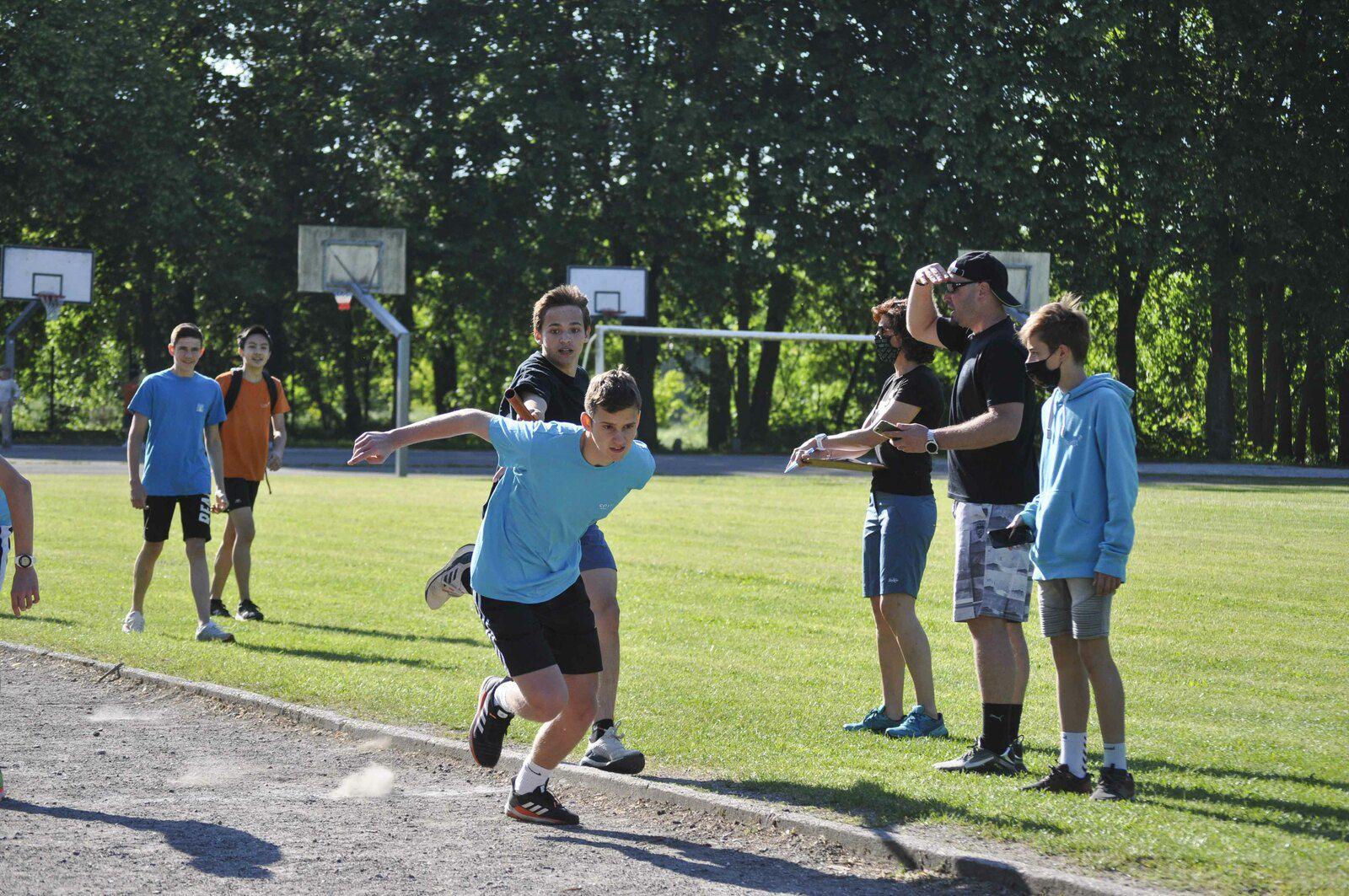 Retour en photos sur l'épreuve du relais et les résultats du lycée