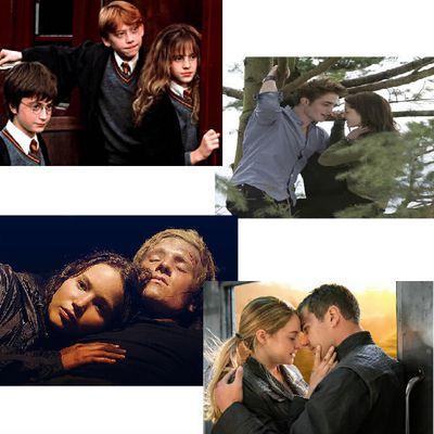 Mes 4 films d'action/fantastiques préférés ♥