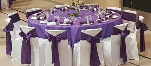 Décoration de salle et décorations de tables - Pontarlier, Doubs, Jura, Suisse