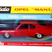 OPEL MANTA 1900 SR COUPE SOLIDO 1/43 - car-collector.net