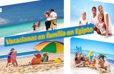 Vacaciones en familia en Egipto
