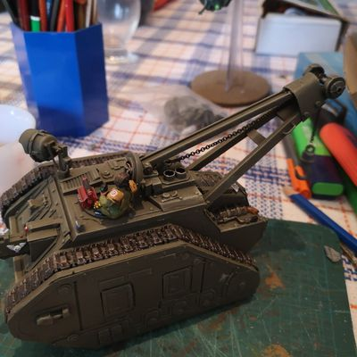 conversion/scratch tank recovery ATLAS 40k/forgeworld