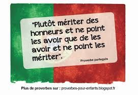 Proverbes chinois ... et arabes
