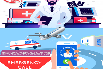 The Only Best Patient Transportation Medium Is Vedanta Air Ambulance in Patna