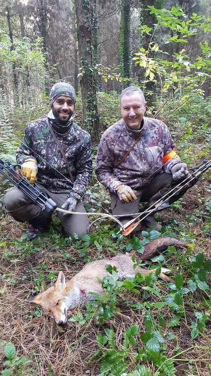 une année de chasse à l'arc et de concrétisation pour Fabrice