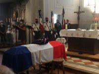 Obsèques de Antoine Sanchez