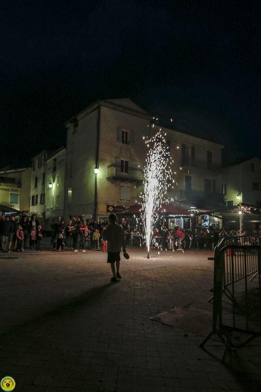 St André les Alpes ;  le feu de la St jean en images