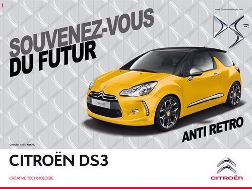 Quand la Citroën DS3 se souvient du futur...