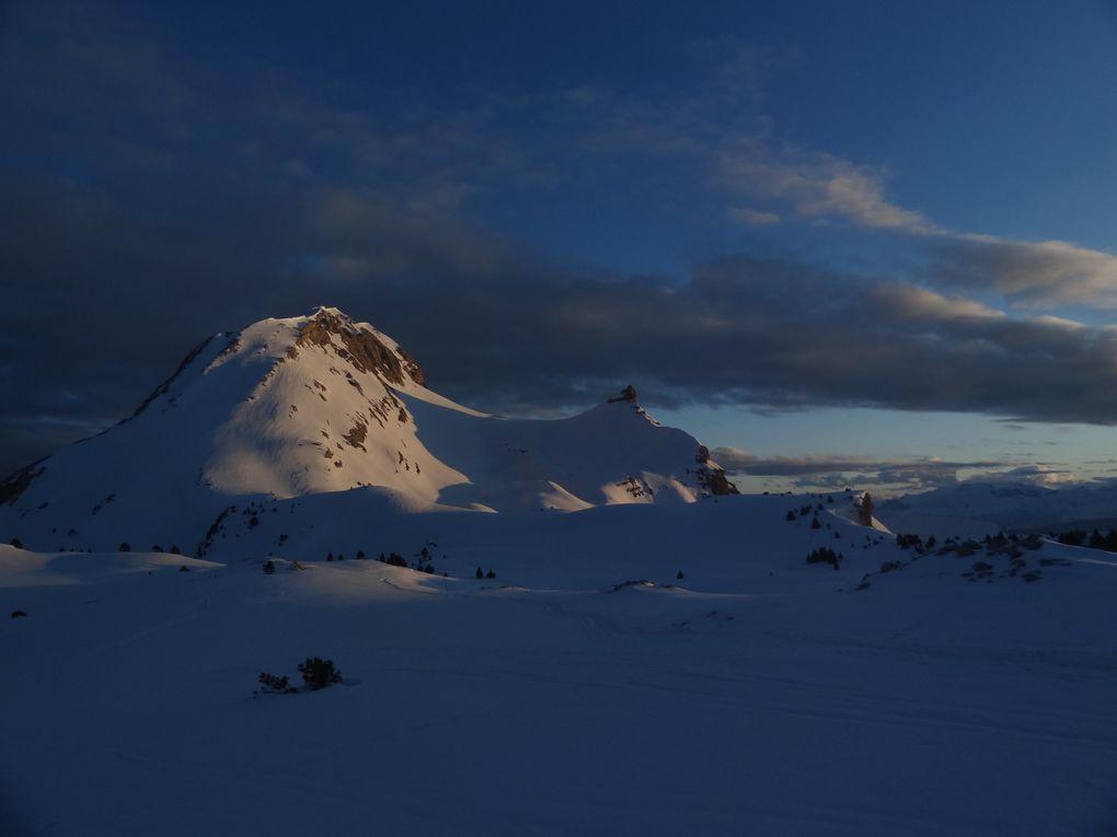 Album - Raid à ski-Vercors2013-