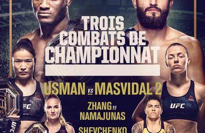 Usman vs Masvidal2 (UFC 261) Sur quelle chaîne suivre le combat dans la nuit de samedi à dimanche ?