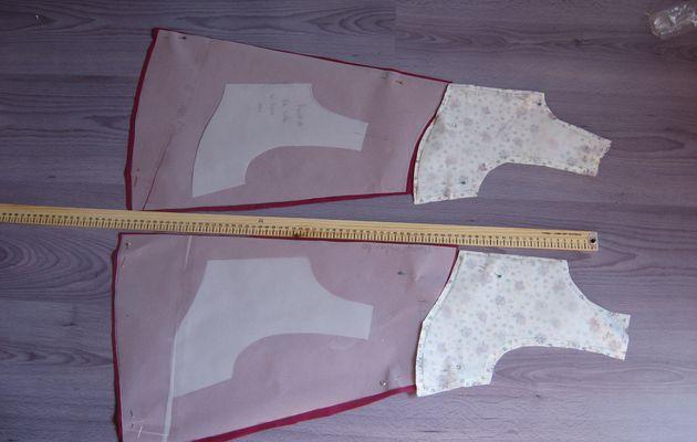 robe trapèze fillette 7 ans