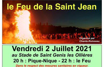 Le Feu de la Saint Jean 2021