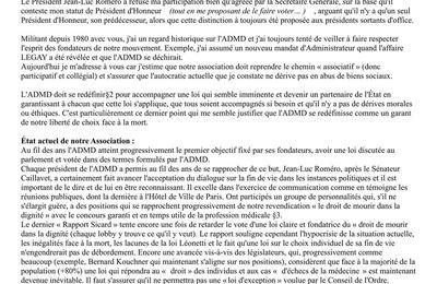 2013 suite AG bordeaux Lettre ouverte aux membres du conseil d'administration, aux délégués et adhérents de l'ADMDpar Pascal H. Landa