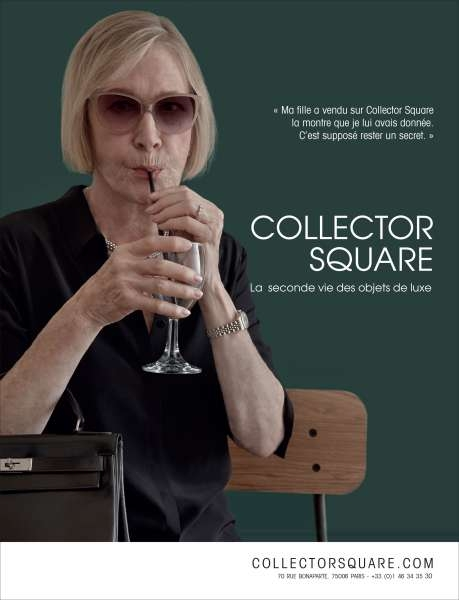 Les pires pub : Collector square, la pub en toc ?
