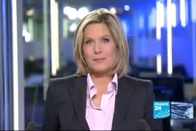 2012 01 01 @21H00 - SONIA PATRICELLI, FRANCE 24, LE JOURNAL