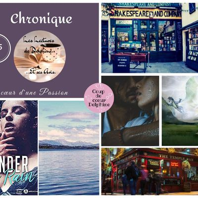 Under the Rain de Emma S. James chez Editions Addictives