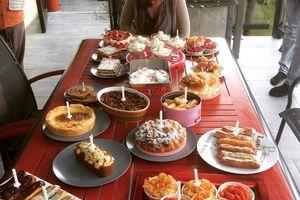 Les 18 desserts des 18 ans de Margot