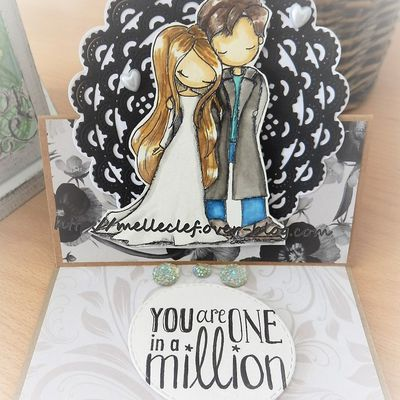 Anniversary easel card