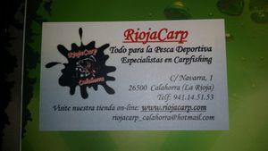 riojacarp nueva tienda de pesca en calahorra