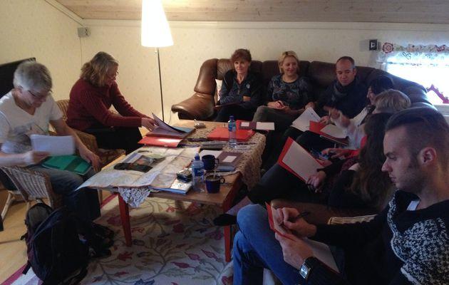 Teachers' Meeting in Sweden 8 au 15-12-2013