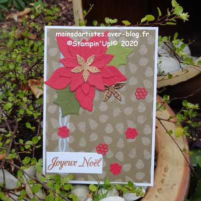 COLLECTION,MARCHE DU POINSETTIA,STAMPIN'UP!.
