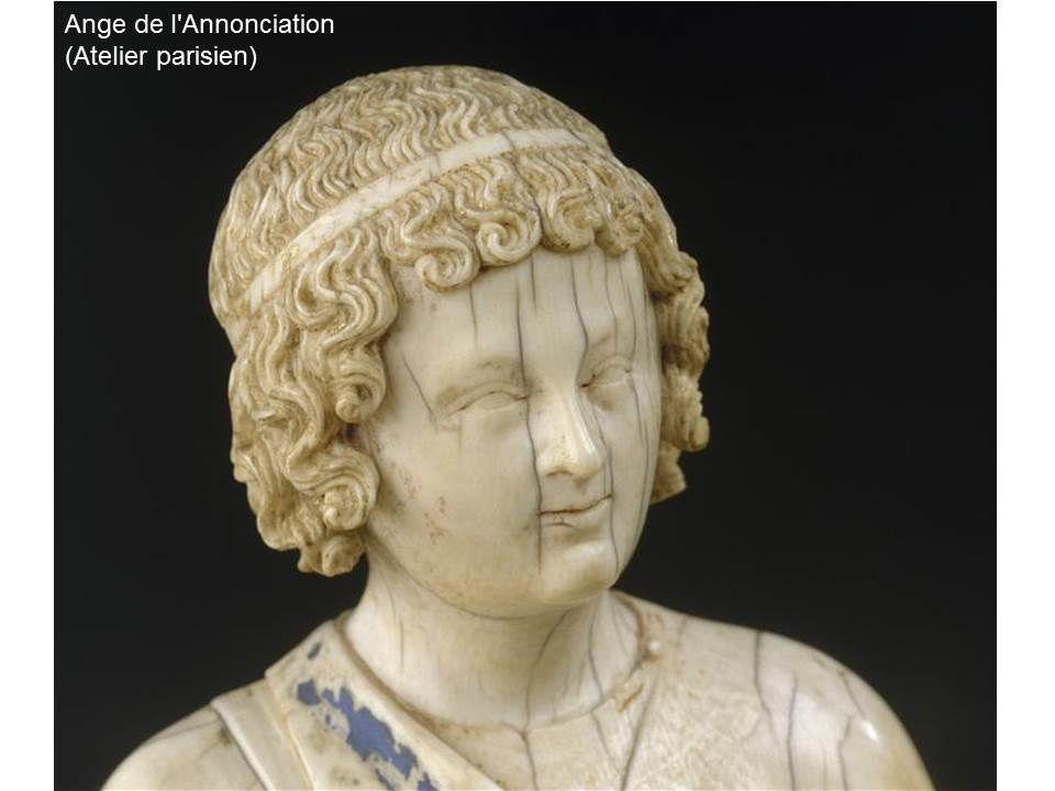 """séance """"art médiéval au musée du louvre"""": sélection d'oeuvres peintes, sculptées, pièces d'orfévrerie, mobilier"""