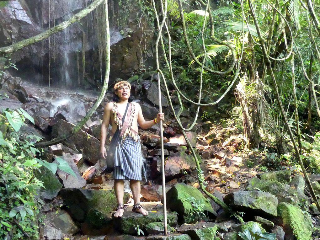 En Amazonie chez les Jivaros ...