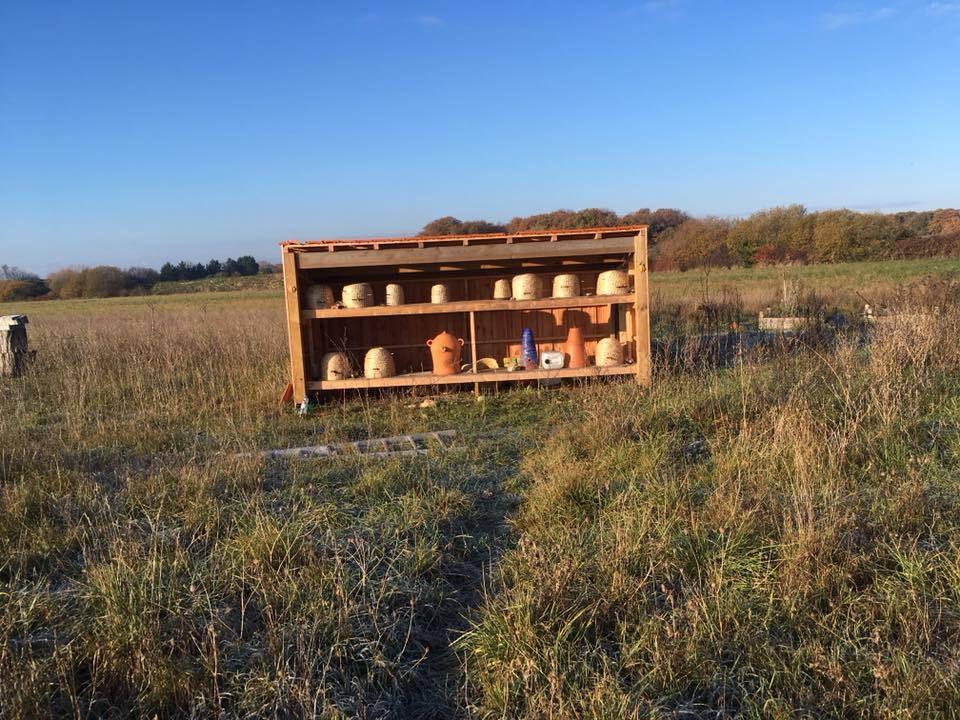 """Vandalisme à la """"Cabane aux abeilles"""""""
