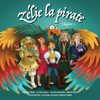 Zélie la pirate, le livre audio d'Aurélie Cabrel