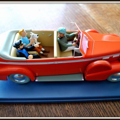 COLLECTION DES VOITURES DE TINTIN