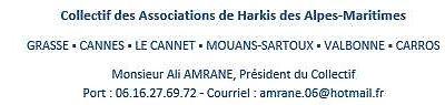 (*Recensement hameaux, camps de transit, et cités urbaines ), du Collectif des Associations de Harkis des Alpes-Maritimes, d'Ajir, et du FMH