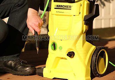 Cách sửa chữa máy rửa xe Karcher tại nhà