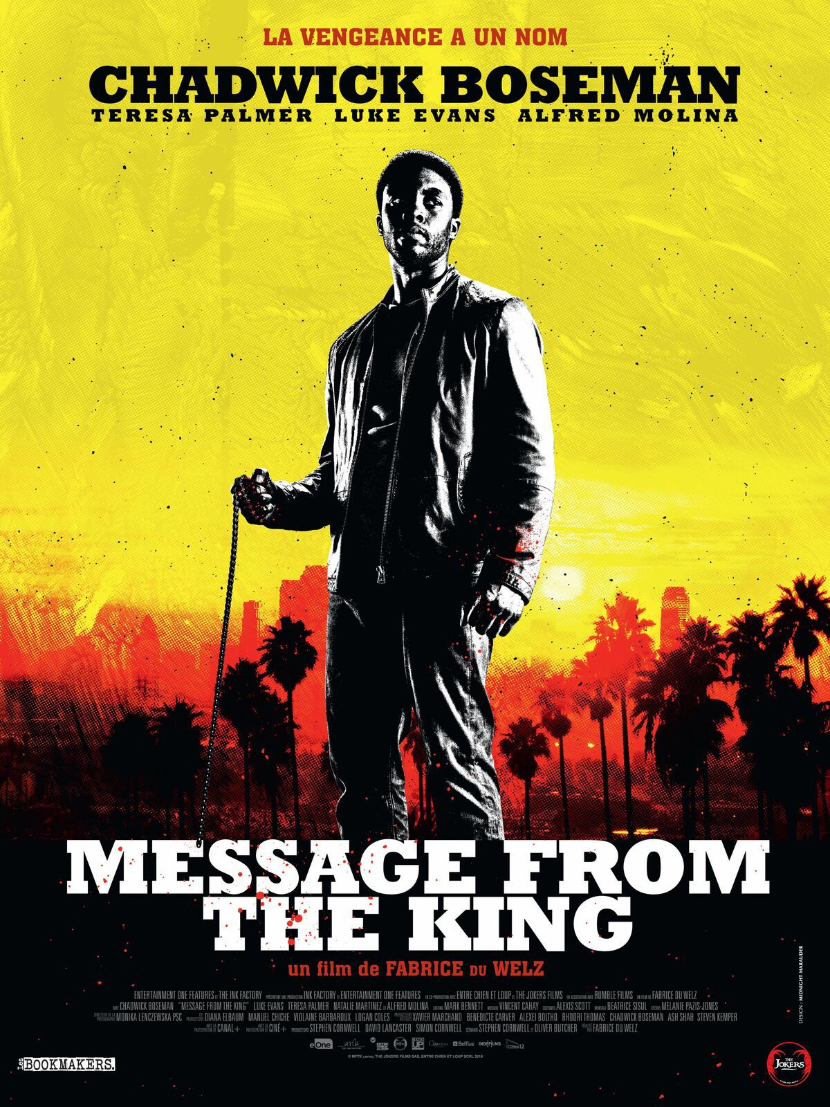 [Film] Message from the King (2017)