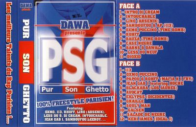 mixtape PSG (Pur Son Ghetto) - Dawala (2001)